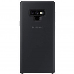 """Samsung"" Silicone Cover apvalks - melns (Galaxy Note 9)"