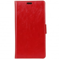 Atvēramais maciņš - sarkans (Galaxy Note 9)