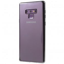 Cieta silikona (TPU) dzidrs apvalks - pelēks (Galaxy Note 9)