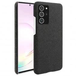 """Fashion"" cieta silikona (TPU) apvalks - melns (Galaxy Note 20 Ultra)"