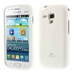 """Mercury"" apvalks - balts (Galaxy S Duos / S Duos 2 / Trend / Trend Plus)"