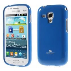 """Mercury"" apvalks - zils (Galaxy S Duos / S Duos 2 / Trend / Trend Plus)"
