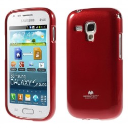 """Mercury"" apvalks - sarkans (Galaxy S Duos / S Duos 2 / Trend / Trend Plus)"