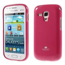 """Mercury"" apvalks - rozs (Galaxy S Duos / S Duos 2 / Trend / Trend Plus)"