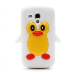 Mīksta silikona - pingvīns (Galaxy S Duos / S Duos 2 / Trend / Trend Plus)