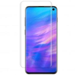 """""""ISME"""" ekrāna aizsargplēve (pilnīgi aizsedzama) - dzidra (Galaxy S10)"""