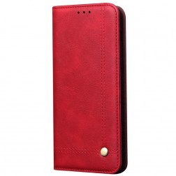 """Deluxe"" atvēramais maciņš - sarkans (Galaxy S10 Lite)"