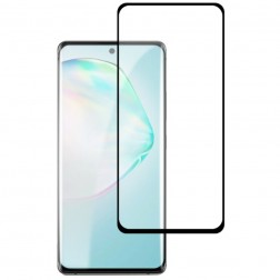 """Mocolo"" Tempered Glass ekrāna aizsargstikls 0.26 mm - melns (Galaxy S10 Lite)"