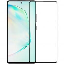 """Nillkin"" CP 9H Tempered Glass ekrāna aizsargstikls 0.33 mm - melns (Galaxy S10 Lite)"
