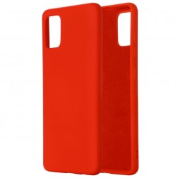 """Shell"" cieta silikona (TPU) apvalks - sarkans (Galaxy S10 Lite)"
