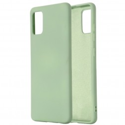 """Shell"" cieta silikona (TPU) apvalks - zaļš (Galaxy S10 Lite)"