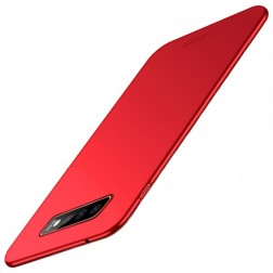 """Mofi"" Shield apvalks - sarkans (Galaxy S10)"