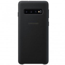 """Samsung"" Silicone Cover apvalks - melns (Galaxy S10)"