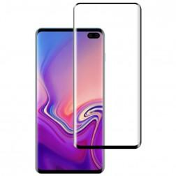 """Mocolo"" Tempered Glass ekrāna aizsargstikls 0.26 mm - melns (Galaxy S10+)"