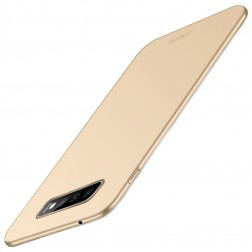 """""""Mofi"""" Shield apvalks - zelta (Galaxy S10+)"""