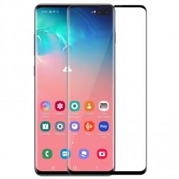 """Rurihai"" Tempered Glass ekrāna aizsargstikls 0.26 mm - melns (Galaxy S10+)"