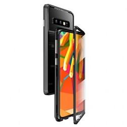 """""""Frame"""" magnētiskais pilnīgi aizsedzams apvalks - dzidrs (Galaxy S10)"""