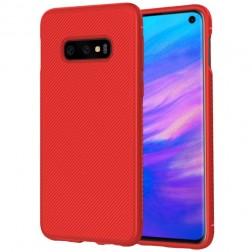 """""""Lenuo"""" cieta silikona (TPU) apvalks - sarkans (Galaxy S10e)"""