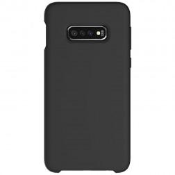 """Shell"" cieta silikona (TPU) vāciņš - melns (Galaxy S10e)"