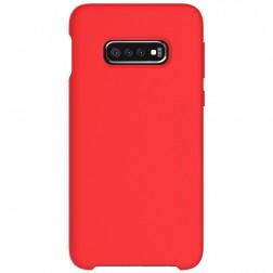 """Shell"" cieta silikona (TPU) apvalks - sarkans (Galaxy S10e)"
