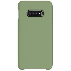 """Shell"" cieta silikona (TPU) apvalks - zaļš (Galaxy S10e)"