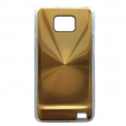 CD stila apvalks - zelts (Galaxy S2)