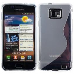 Cieta silikona futrālis - dzidrs (Galaxy S2)