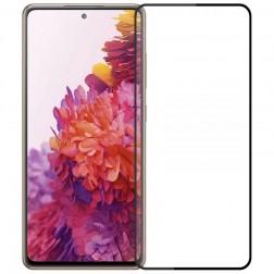 """Mofi"" Tempered Glass ekrāna aizsargstikls 0.26 mm - melns (Galaxy S20 FE)"