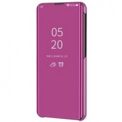 Plastmasas atvērams maciņš - rozs (Galaxy S20 FE)
