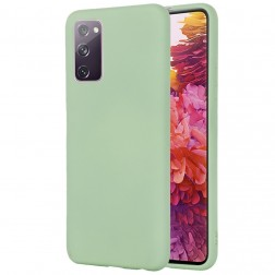 """Shell"" cieta silikona (TPU) apvalks - zaļš (Galaxy S20 FE)"