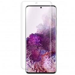 """""""ISME"""" ekrāna aizsargplēve (pilnīgi aizsedzama) - dzidra (Galaxy S20)"""