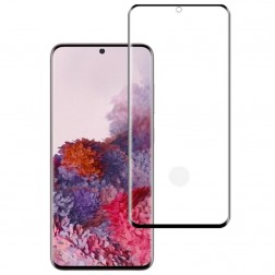 """Mocolo"" Tempered Glass ekrāna aizsargstikls 0.26 mm - melns (Galaxy S20)"