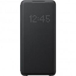 """Samsung"" Smart Led View Cover atvērams maciņš - melns (Galaxy S20+)"