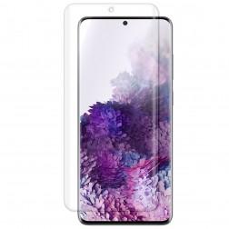 """""""ISME"""" ekrāna aizsargplēve (pilnīgi aizsedzama) - dzidra (Galaxy S20+)"""