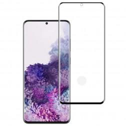 """Mocolo"" Tempered Glass ekrāna aizsargstikls 0.26 mm - melns (Galaxy S20+)"