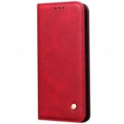 """""""Deluxe"""" atvēramais maciņš - sarkans (Galaxy S20 Ultra)"""
