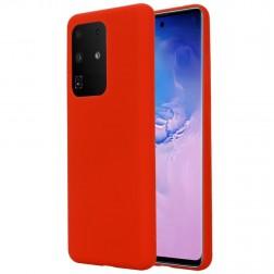 """Shell"" cieta silikona (TPU) apvalks - sarkans (Galaxy S20 Ultra)"