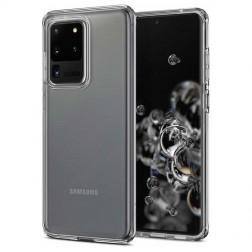 Cieta silikona (TPU) apvalks - dzidrs (Galaxy S20 Ultra)
