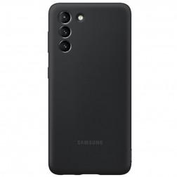 """Samsung"" Silicone Cover apvalks - melns (Galaxy S21)"