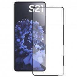 """Mocolo"" Tempered Glass ekrāna aizsargstikls 0.26 mm - melns (Galaxy S21)"