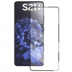 """Mocolo"" Tempered Glass ekrāna aizsargstikls 0.26 mm - melns (Galaxy S21+)"