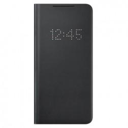 """Samsung"" Smart Led View Cover atvērams maciņš - melns (Galaxy S21+)"
