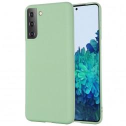 """Shell"" cieta silikona (TPU) apvalks - zaļš (Galaxy S21)"