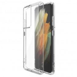 Cieta silikona (TPU) apvalks - dzidrs (Galaxy S21)