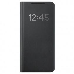 """Samsung"" Smart Led View Cover atvērams maciņš - melns (Galaxy S21)"