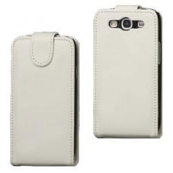 Klasisks atvēramais futrālis - balts (Galaxy S3)