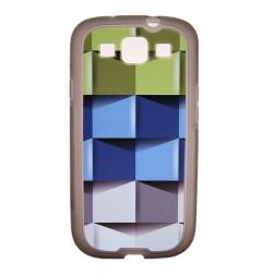 """""""Bullet"""" futrālis - """"Cubes"""" (Galaxy S3)"""