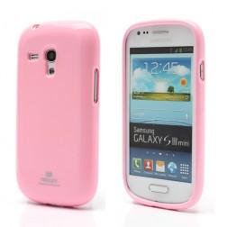 """""""Mercury"""" futrālis - rozs (Galaxy S3 mini)"""
