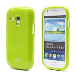 """""""Mercury"""" futrālis - zaļš (Galaxy S3 mini)"""