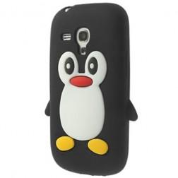 Mīksta silikona - pingvīns (Galaxy S3 mini)